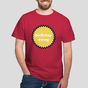 birthday swag mens dark t-shirt