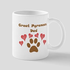 Great Pyrenees Dad Small Mug