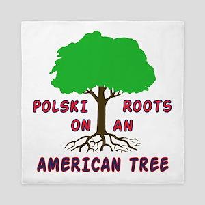 Polski American Roots Queen Duvet