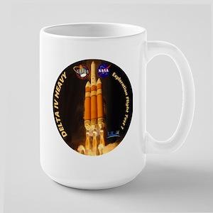 Delta IV Heavy Large Mug