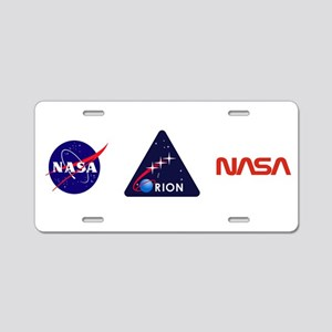 Orion Project Aluminum License Plate