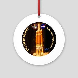 Delta IV Heavy Ornament (Round)