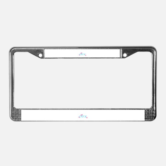 obx, outer banks, nc License Plate Frame