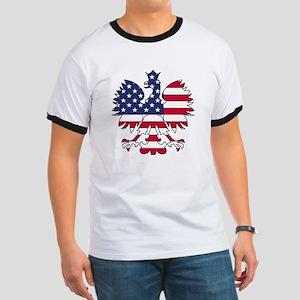 Polish American Eagle Ringer T