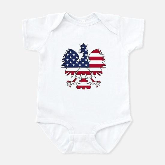 Polish American Eagle Infant Bodysuit