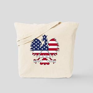 Polish American Eagle Tote Bag