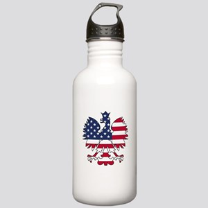 Polish American Eagle Stainless Water Bottle 1.0L