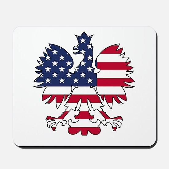 Polish American Eagle Mousepad