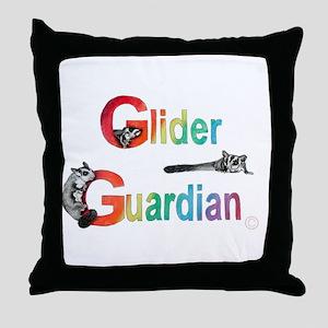 Glider Guardian Throw Pillow