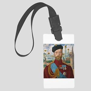 Tsar Nicholas II Large Luggage Tag