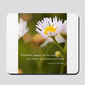 Flowers on the earth Mousepad