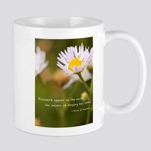 Flowers on the earth Mug