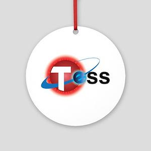 TESS Mission Logo Round Ornament