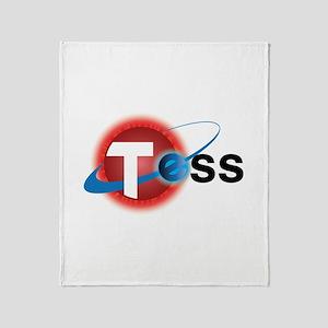 TESS Mission Logo Throw Blanket