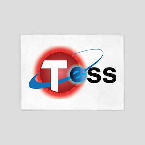 TESS Mission Logo 5'x7'Area Rug