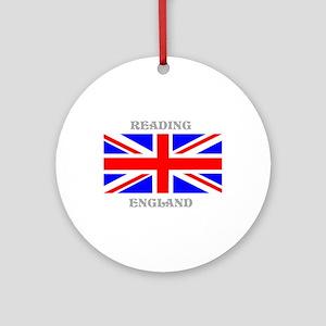 Reading England Ornament (Round)