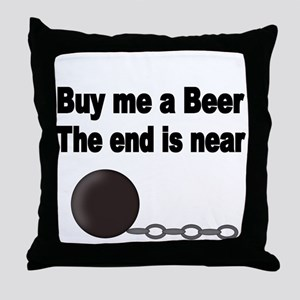 BUY ME A BEER Throw Pillow