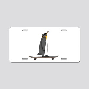 Cool Penguin Aluminum License Plate