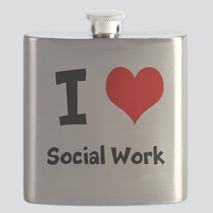I heart Social Work Flask