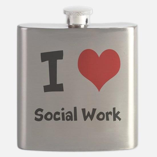I heart Social Work Flask