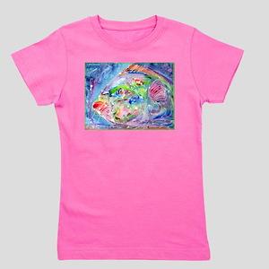 Tropical Fish! Colorful art! Girl's Tee