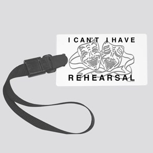 I Can't I Have Rehearsal w LG Drama Masks Large Lu