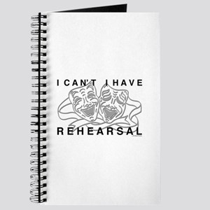 I Can't I Have Rehearsal w LG Drama Masks Journal