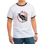 Love Vultures Ringer T
