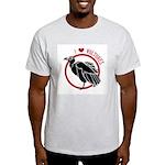 Love Vultures Ash Grey T-Shirt