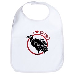 Love Vultures Bib