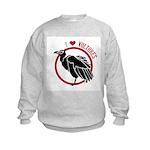 Love Vultures Kids Sweatshirt