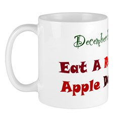 Mug: Eat A Red Apple Day