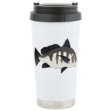 Black Drum c Travel Mug
