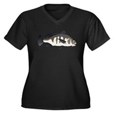 Black Drum c Plus Size T-Shirt