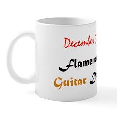 Mug: Flamenco Guitar Day