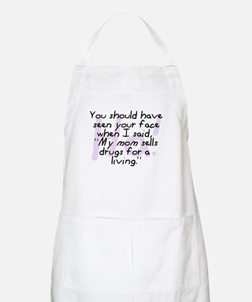 Mom Sells Drugs BBQ Apron