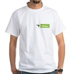 'Powered By' Apache Shale White T-Shirt