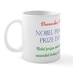 Mug: Nobel Peace Prize Day Nobel prizes were first