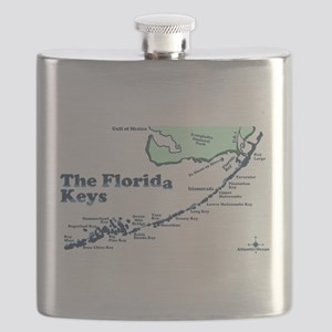 Florida Keys - Map Design. Flask