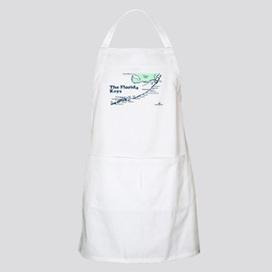 Florida Keys - Map Design. Apron