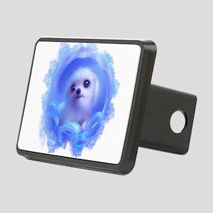Cute Dog in BLue Hitch Cover