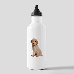 Golden Retriever Stainless Water Bottle 1.0L