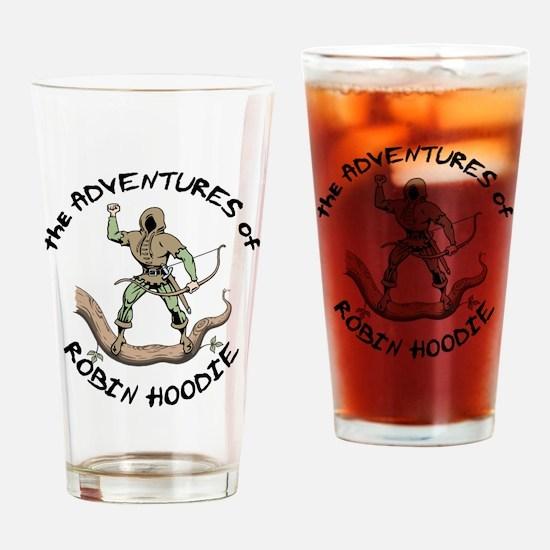 Robin Hoodie Drinking Glass