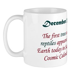 Mug: First trees and reptiles appeared on Earth to