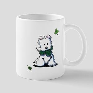 Lucky Clover Westie Mug