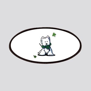 Lucky Clover Westie Patches