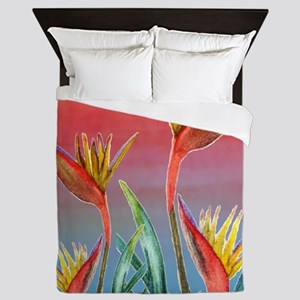 Bird of Paradise Queen Duvet