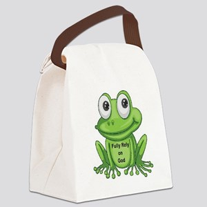 Fully Rely On God F.R.O.G. Lunch Bag