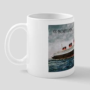 SS NORMANDIE mug
