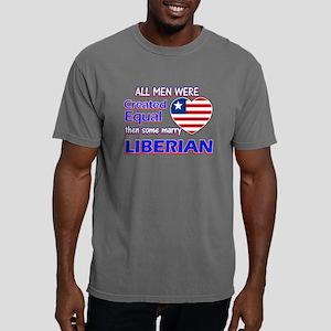 Liberian flag designs Mens Comfort Colors Shirt